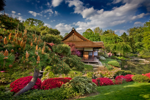 The Japanese House and Garden in Fairmount Park